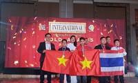 Hanoier Schüler erreichen gute Leistung beim internationalen Wettbewerb zur Suche nach Mathematik-Talenten 2019
