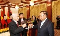 Verbesserung der besonderen Beziehungen zwischen Vietnam und Laos