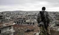 Bemühungen um Wiederaufbau Syriens