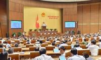 Parlamentssitzung: 17 Gesetzesentwürfe werden diskutiert und verabschiedet