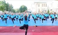 Fünfter internationaler Yoga-Tag: Yoga für ein grünes Leben