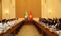 Ausbau der Freundschaft zwischen Vietnam und Myanmar