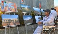 Eröffnung der speziellen Ausstellung über den Inselkreis Ly Son