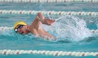 Schwimmer Nguyen Huy Hoang gewinnt ein Ticket für Olympische Sommerspielen 2020