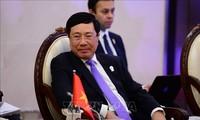 ASEAN-Außenminister treffen Vertreter der ASEAN-Intergouvernementale Kommission für Menschenrechte