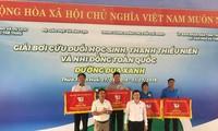 """Delegation von Ho Chi Minh Stadt gewinnt den Schwimmwettbewerb """"Blaue Strecke"""""""