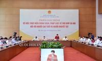 Erklärung über Verantwortung der Staatsverwaltung in Förderpolitik für Senioren und behinderte Menschen
