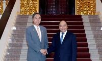 Premierminister Nguyen Xuan Phuc empfängt den Gouverneur der japanischen Präfektur Nagano