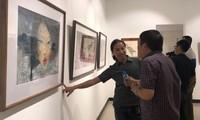Ausstellung der Werke auf Do-Papier in Hanoi