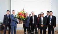 Präsentation des vietnamesisch-deutschen Innovationsnetzwerks