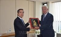 Delegation der Kommunistischen Partei Vietnams besucht Griechenland