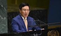 Vizepremierminister Pham Binh Minh: Vietnam appelliert an beteiligte Seiten im Ostmeer, das Völkerrecht einzuhalten