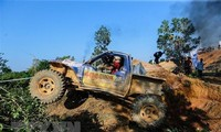 Beendigung des größten Geländewagen-Rennens in Vietnam