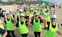 """Marathon- und Staffellauf unter Motto """"Für den Frieden der Kinder"""" in Da Nang"""