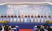 Spatenstich des Projekts zum Bau von Smart-Stadt in Dong Anh