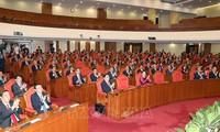 Abschluss der 11. Sitzung des Zentralkomitees der KPV