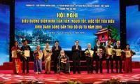 """Aufbau und Entwicklung der Hauptstadt Hanoi durch die Bewegung """"Gute Leute, gute Taten"""""""