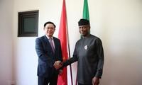 Verstärkung der Zusammenarbeit mit dem größten Partner Vietnams in Afrika