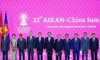 22. ASEAN-China-Gipfeltreffen in Thailand