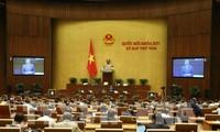 Das Parlament verabschiedet den Beschluss zur Austeilung des Staatshaushalts 2020