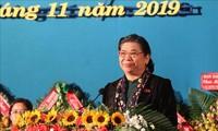 Vizeparlamentspräsidentin Tong Thi Phong nimmt an Konferenz ethnischer Minderheiten der Provinz Dak Lak teil