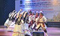 Auftritt des russischen Kunstensembles Gaskarov in Vung Tau