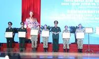 Ehrung der vietnamesischen Friedenstruppe