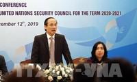 Teilnahme am Weltsicherheitsrat: Vietnam will mehr Beiträge zum Weltfrieden leisten