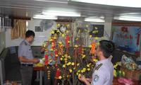 Vorbereitung auf lebensnotwendige Waren und Geschenke für Beamte und Soldaten des Wachsturms DK1