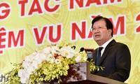 Bilanzkonferenz des vietnamesischen Bergbaukonzerns