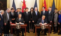 EU ist vorsichtig über das Handelsabkommen zwischen USA und China