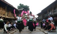Tetfest der vietnamesischen ethnischen Minderheiten
