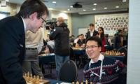 Guter Start des Schachspielers Le Quang Liem bei Schachturnier Gibraltar Masters