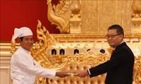 Myanmars Präsident schätzt die Zusammenarbeit mit Vietnam