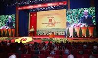 Feier zum 90. Gründungstag der Kommunistischen Partei Vietnams in Hanoi