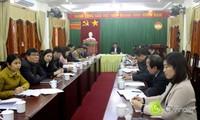 Online-Konferenz zur Umsetzung der Aufgaben der Vaterländischen Front Vietnams