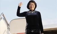 Vizestaatspräsidentin Dang Thi Ngoc Thinh besucht Indien
