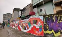 Mülldeponie am Roten Fluss wird zu Kunstwerk