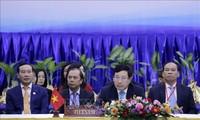 ASEAN-Außenminister diskutieren über die Covid-19-Epidemie