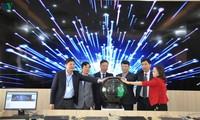 Probe-Inbetriebnahme des Verwaltungszentrums von Smart-Cities in der Stadt Mong Cai