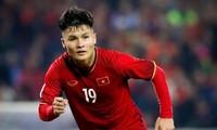 Quang Hai trainiert hart und ist bereit für die Qualifikationsrunde der WM 2022