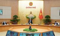 Regierungssitzung über Maßnahmen zur Bekämpfung der Covid-19