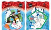 """Briefmarkenkollektion """"Einigung bei Vorbeugung und Bekämpfung der Covid-19"""""""