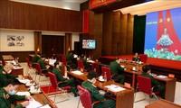 Online-Konferenz des Verteidigungsministeriums zur Vorbeugung und Bekämpfung der Covid-19