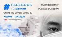 """Livestream-Programm """"SocialForGoodVN – Gemeinsame Aktion zur Beseitigung der Covid-19"""""""