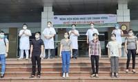Weitere acht Covid-19-Patienten werden erfolgreich geheilt