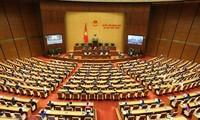 Eröffnung der 9. Sitzung des Parlaments der 14. Legislaturperiode