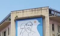 Typische Werke und Kunsteinrichtungen über Präsident Ho Chi Minh