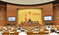 Zweite Woche der Sitzung des Parlaments