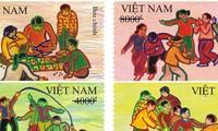 """Weltkindertag: Herausgabe der Briefmarken-Kollektion """"Volksspiele"""""""
